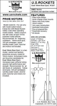 US Rockets Dual Rear Eject