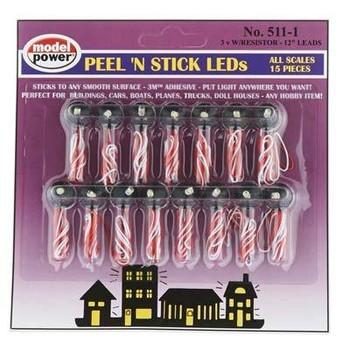 Model Power peel & stick LEDs 511-1