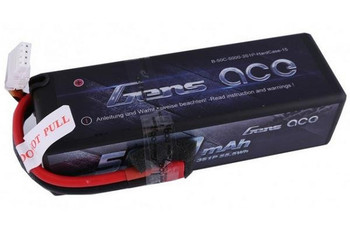 Gens Ace 3S 11.1V 5000 mAh 50C hard case LiPo battery