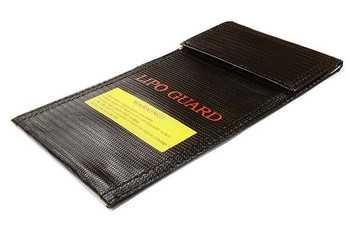 LiPo guard battery bag (200x100mm) for charging & storage C26347BLACK