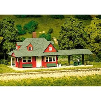 Atlas HO scale passenger station kit 706