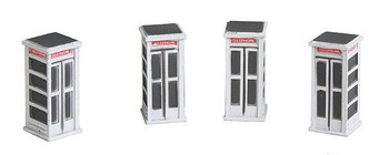 IMEX Telephone Booths HO Scale 6158
