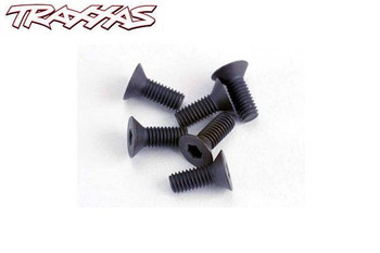 Traxxas 3 x 8 mm flat head machine screws 2550