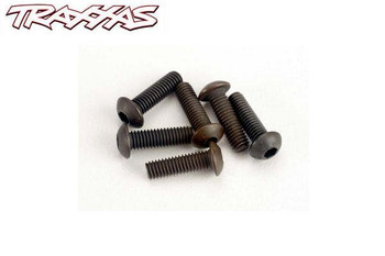 Traxxas 3 x 10 mm button head machine screws 2577