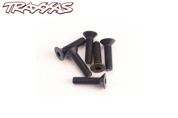Traxxas 3 x 12 mm flat head machine screws 2552