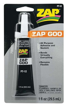 Pacer ZAP GOO all purpose adhesive PT-12
