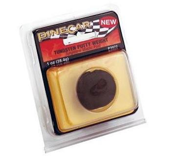 PineCar Tungsten putty weight