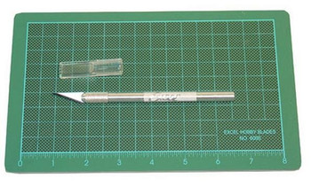 Excel precision cutting kit with blue colored mat 90003