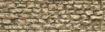Chooch Enterprises Small Random Wall - N/HO Scale #8250