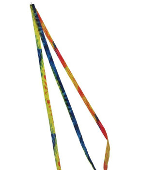15^ Tie Dye Kite Tail