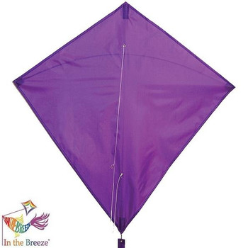 Purple Colorfly Diamond Kite