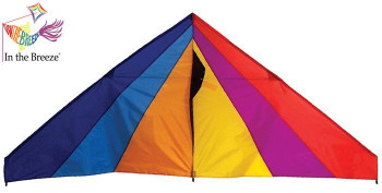 Rainbow 6 ft Delta Kite