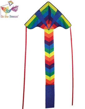 Rainbow Arrow Fly-Hi Kite