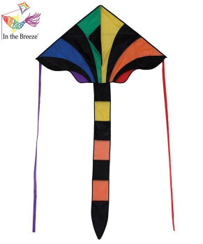 Rainbow Sparkler Fly-Hi Kite