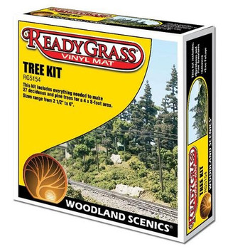 Woodland Scenics ReadyGrass tree kit RG5154