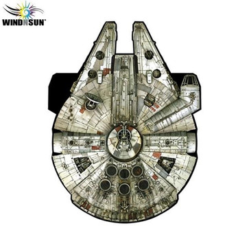 Star Wars Millennium Falcon SuperSized nylon kite