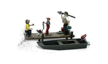 Woodland Scenics family fishing HO scale A1923
