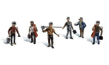 Woodland Scenics Miners HO Scale Figures