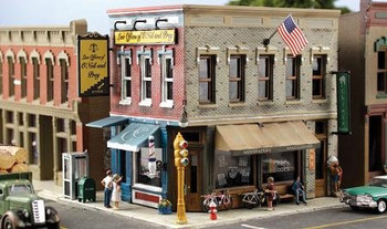 Woodland Scenics Pre-Fab Main Street Mercantile HO scale building kit