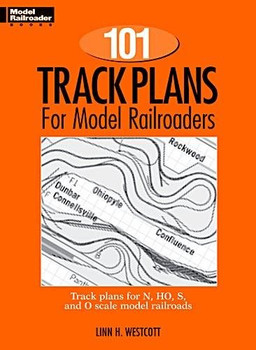 101 Track Plans for model railroaders book by Linn H Westcott