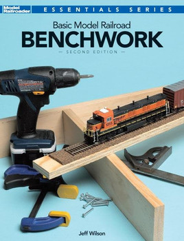 Basic Model Railroad Benchwork book by Jeff Wilson 12469