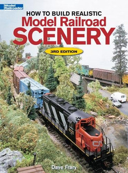 How to build realistic model railroad scenery 3rd edition book by Dave Frary