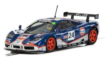 Scalextric McLaren F1 GTR Gulf 1/32 slot car C3969