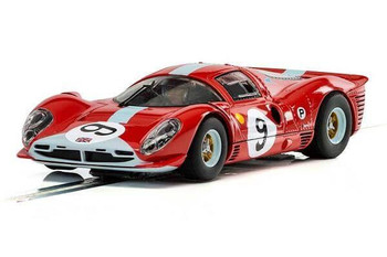 Scalextric Ferrari 412P Brands Hatch 1/32 slot car C3946