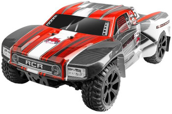 Redcat Racing Blackout SC brushed 4x4 1/10 RC short course truck red