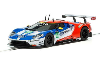 Scalextric Ford GT GTE Le Mans 1/32 slot car C3858