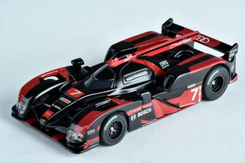 AFX Mega-G+ Audi R18 black HO slot car 22007