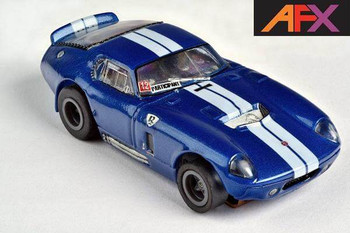 AFX Mega-G+ Shelby Cobra Limited Edition HO slot car