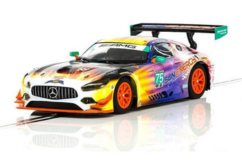 Scalextric Mercedes AMG GT3 Daytona 24 Hours 2017 1/32 slot car