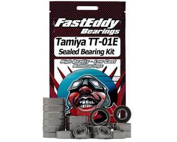 FastEddy Tamiya TT-01E 4WD chassis sealed bearing kit