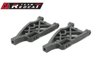 Team Redcat CNC Machined Stainless Chassis Guard-Front