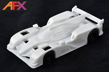AFX Mega-G+ Audi R18 White Paintable HO slot car 22009