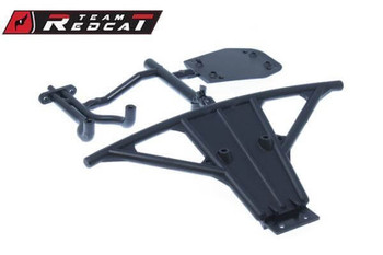 Team Redcat SC-04 front bumper & skid plate for the TR-SC10E 4x4 1/10 RC short course truck