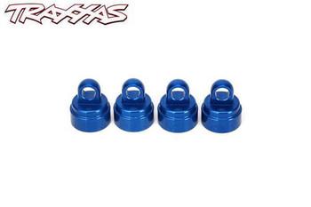 Traxxas blue aluminum shock caps for ultra shocks 3767A