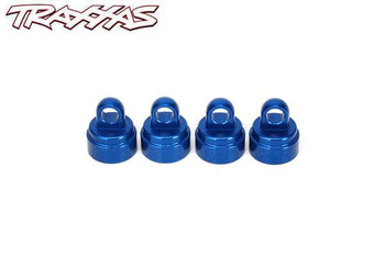 Traxxas blue aluminum shock caps for ultra shocks 3767A
