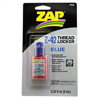 ZAP Z-42 blue medium strength thread locker