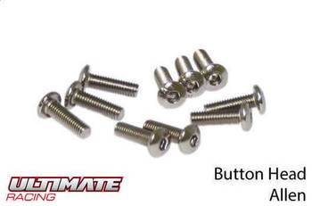 Ultimate Racing button head machine screws
