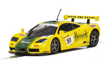 Scalextric McLaren F1 GTR Harrods 1995 LeMans 1/32 slot car C4026