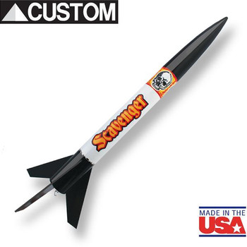 Custom Rocket Company Scavenger flying model rocket kit