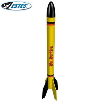 Estes Big Bertha flying model rocket kit 1948