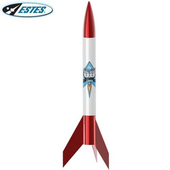 Estes Alpha VI flying model rocket kit 1958