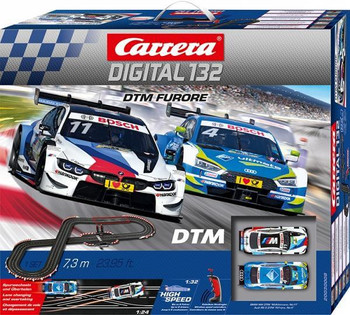 Carrera DIGITAL 132 DTM Furore race set box
