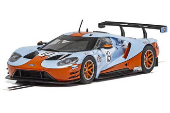 Scalextric Ford GT GTE Gulf 1/32 slot car C4034