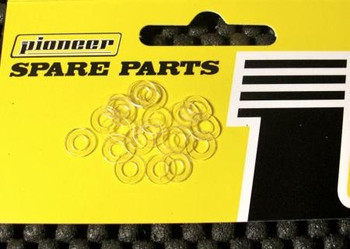 Pioneer 3/32 ID X 1.5 mm Delrin Axle Spacers (20)