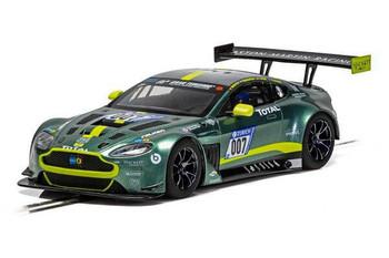 Scalextric Aston Martin Vantage GT3 Nurburgring 2018 1/32 slot car C4036
