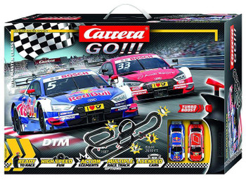 Carrera GO DTM Master Class slot car set 20062480